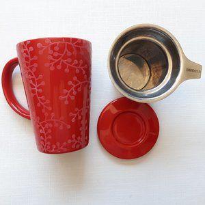 Davids Tea The Perfect Mug Sleigh Red Berries